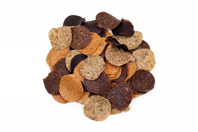 Hundechips Mix Leber-Euter-Pansen-Rindermix